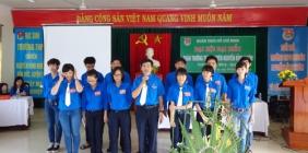 Đại hội Đoàn trường THPT chuyên Nguyễn Bỉnh Khiêm nhiệm kỳ 2014 -2015